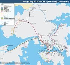 Hong Kong Metro Map by File Hong Kong Railway Future Route Map En Svg Wikimedia Commons