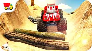 car racing games road monster truck derby gameplay android