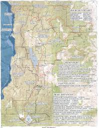 Annadel State Park Map by Trailroller Com Flume