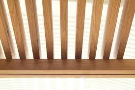 nodoo false ceiling with open slats