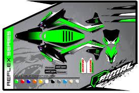 motocross helmet wraps kawasaki primal x motorsports motocross graphics atv