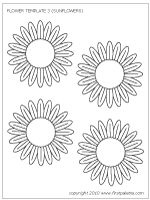 flowers printable templates u0026 coloring pages firstpalette com