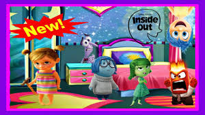 inside out baby riley room decoration cute game for kids