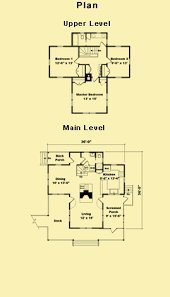 cottage floor plans cottage house plans for a small 3 bedroom vacation home