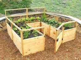 Raised Vegetable Garden Ideas Elevated Garden Plan Elevated Raised Garden Plans