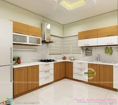 modern home interiors of bedroom dining kitchen kerala home