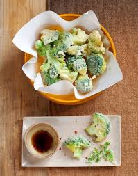 cuisiner le brocoli brocolis en tempura régal