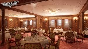 Titanic First Class Dining Room