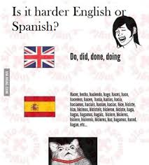 Meme In English - is it harder english or spanish le meme faces