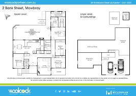 Floor Plans Brisbane 2 Bank Street Mowbray Woolcock Partners