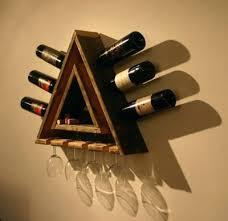 wine rack diy wood wine glass rack 18 diy wine rack and storage