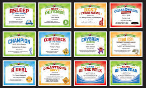fun certificate templates fantasy football certificates award templates for ffl