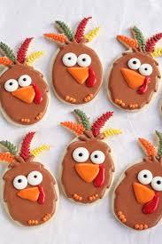 easy turkey cookies pineapple cutter the bearfoot baker