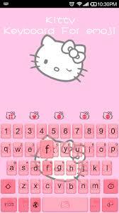 kitty emoji keyboard android free download mobomarket