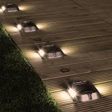 Solar Path Lighting Solar Path Driveway Light High Power Warm White Leds 4 Pack