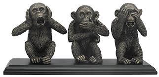 three wise monkeys ornament see hear speak no evil co uk