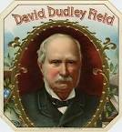 David Dudley Field cigar box label. Copyright 1894 Schumacher & Ettlinger, ... - David-D-Field-Cigar-Label