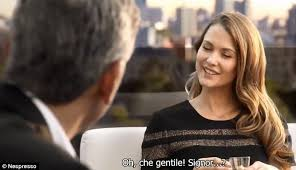 nespresso commercial female actress matt damon earns a cool 3million to star in 20 second nespresso