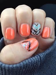 best 25 aztec nails ideas on pinterest tribal nail designs