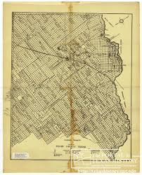 University Of Arkansas Map Map Of Pecos County Texas The Portal To Texas History