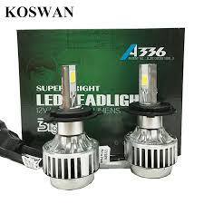 sale price 2pcs high quality cob led headlight h4 hi lo auto led