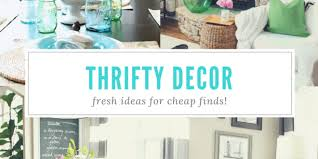Thrifty Decor Refresh Restyle - Thrifty home decor