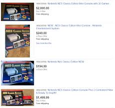 what time did the nes classic go on sale at amazon on black friday nes classic edition u0027s low stock is smart for business but bad for