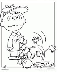 charlie brown christmas coloring activity grandma ideas