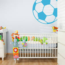wall decal design soccer ball wall decals for boys bedroom teams