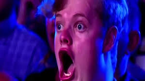 Shocked Face Meme - man with weird facial expression on australia s got talent youtube