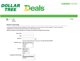 how to apply for dollar tree jobs online at dollartree com careers