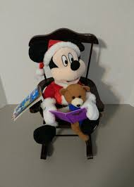 Mickey Mouse Chair by Image Disney Rockin Santa Mickey Mouse Reads Night Before