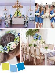 color combination for blue 15 wedding color combos you u0027ve never seen you ve spring wedding