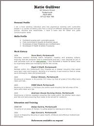 Personal Background Resume Sample by Resume Examples 10 Best Ever Detailed Information Good Form Of