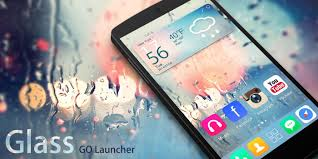 Glass Go Launcher Theme Android Apps On Google Play