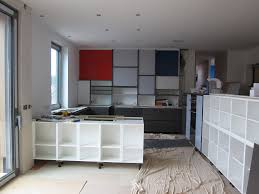 our own grand design 36 the mondrian kitchen wall is installed
