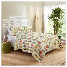 pineapples kokomo reversible quilt set vue target