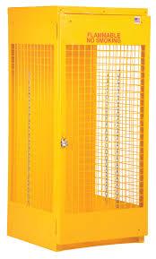 Yellow Storage Cabinet Vestil Cylinder Storage Cabinets