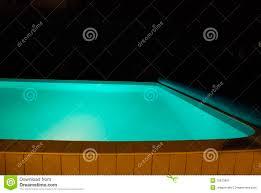 swimming pool at night stock image image 10813961