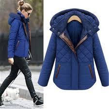 Warm Winter Coats For Women Ebay Sale 2016 Fashion Leather Splice Winter Jacket Women