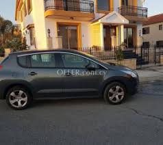 peugeot 3007 for sale peugeot 3008 cars for sale cyprus offer com cy