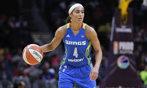 skylar diggins headband dallas wings guard skylar diggins smith announces she s joined