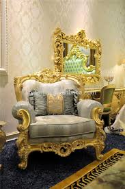 silver tufted sofa nouveau french style lounge chair elegant carved floral gold and