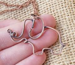 How To Make Jewelry Out Of Wire - best 25 copper wire jewelry ideas on pinterest diy wire