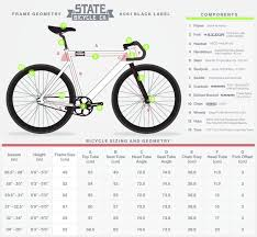 black friday bicycle amazon amazon com state bicycle black label 6061 aluminum fixed gear