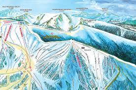 Keystone Resort Map Arapahoe Basin Trail Map Ski Trail Map Artist Kevin Mastin