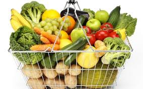 fruit and vegetable basket make fruit and veg in animal shapes to appeal to kids say
