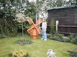 ornamental garden windmills