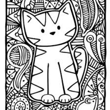 cat coloring pages adults cat coloring pages adults