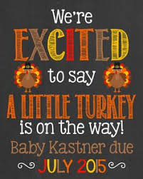 thanksgiving pregnancy announcement chalkboard poster we re